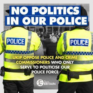 Avon & Somerset Police & Crime Commissioner - UKIP's Position